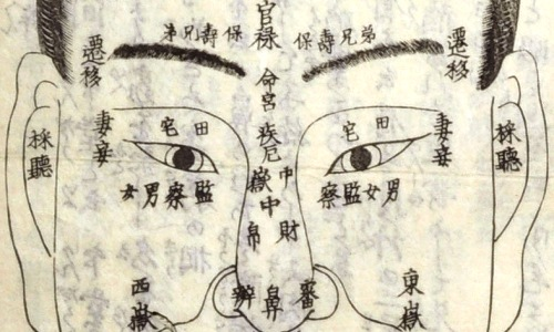 Japanese Physiognomy – the Art of Face Reading