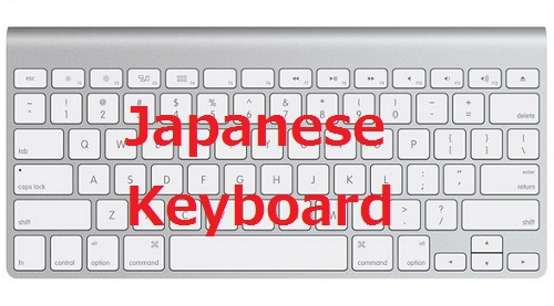 Typing Japanese and Optimizing Japanese keyboard